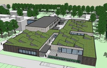 SBSO 'Baken' en MPIGO 'Zonneken' Sint-Niklaas overzicht site (vergrote weergave in fotogalerij)