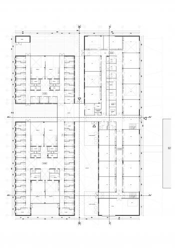 SBSO 'Baken' en MPIGO 'Zonneken' Sint-Niklaas plan gelijkvloers (vergrote weergave in fotogalerij)