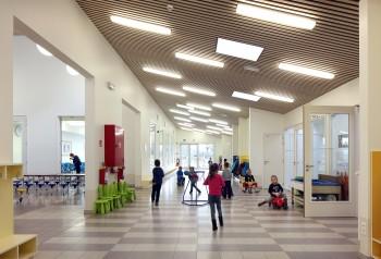 Gemeentelijke Basisschool Berlaar - binnenaanzicht (vergrote weergave in fotogalerij)