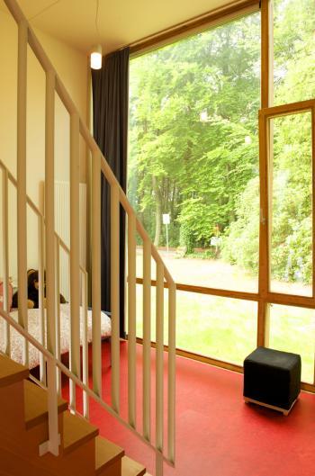 Internaat 'Hof Ten Bos' Brasschaat interieur (vergrote weergave in fotogalerij)