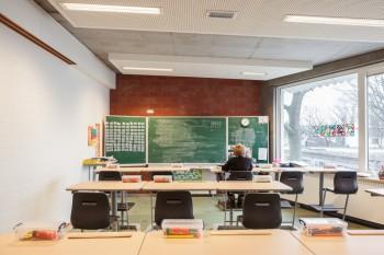 BSBO 'Groenlaar' Rumst Klaslokaal (vergrote weergave in fotogalerij)