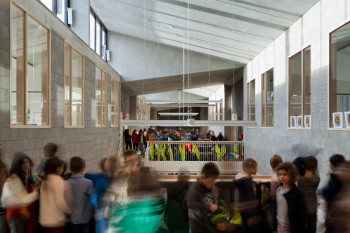 Basisschool De Driehoek Bocholt - binnenaanzicht (vergrote weergave in fotogalerij)