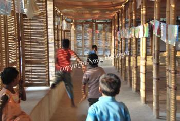 METIschool Rudrapur klaslokaal (vergrote weergave in fotogalerij)