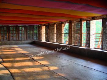 METIschool Rudrapur lokalen verdieping (vergrote weergave in fotogalerij)