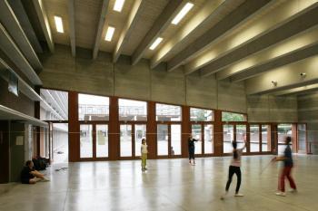 BS 'Klavertje 4' Brussel polyvalente zaal (vergrote weergave in fotogalerij)