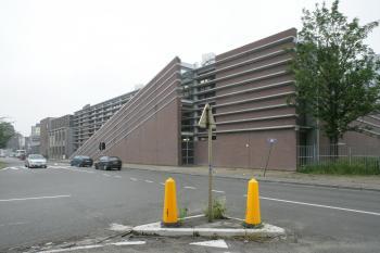 BS 'Klavertje 4' Brussel exterieur zicht op de voorgevel (vergrote weergave in fotogalerij)