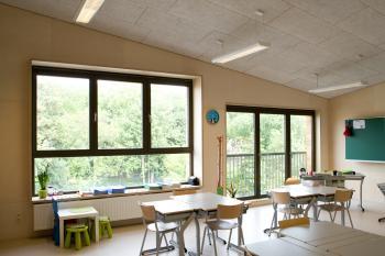 BS 'Sint-Ursula' Laken klaslokaal (vergrote weergave in fotogalerij)