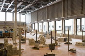Scholencampus Beringen - Binnenaanzicht (vergrote weergave in fotogalerij)