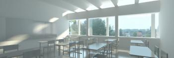 Basisschool Hofkouter Sint-Lievens-Houtem klaslokaal (vergrote weergave in fotogalerij)