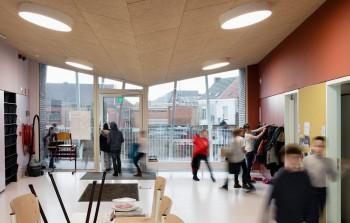 Gemeentelijke basisschool 't Kofschip Duffel - binnenaanzicht (vergrote weergave in fotogalerij)