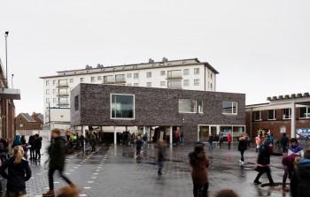 Gemeentelijke basisschool 't Kofschip Duffel - buitenaanzicht (vergrote weergave in fotogalerij)