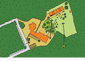 Basisschool Zonnekind inplantingsplan (vergrote weergave in fotogalerij)