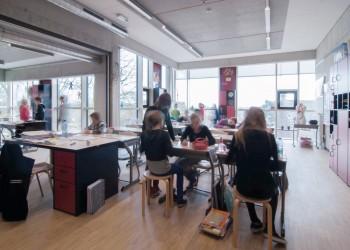 Vrije Basisschool Lozen - Klaslokaal (vergrote weergave in fotogalerij)
