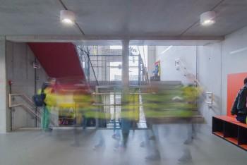 Vrije Basisschool Lozen - Circulatieruimte (vergrote weergave in fotogalerij)