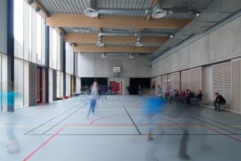 Vrije Basisschool Lozen - Turnzaal (vergrote weergave in fotogalerij)
