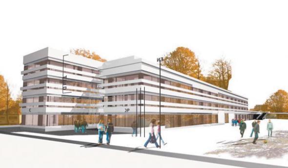 Kunstschool en Instituut Regina Mundi Genk - Peter Downsbrough