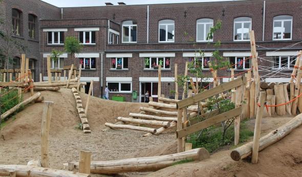 Speelnatuur op school, Gent